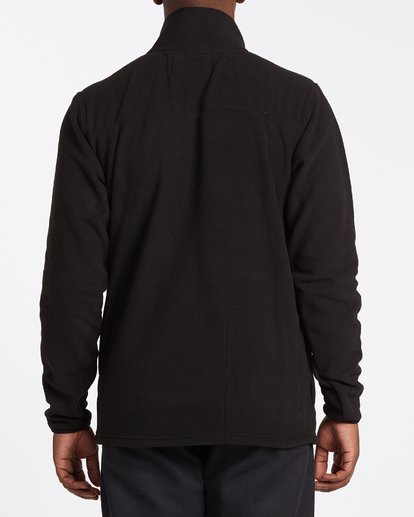 2 Ridgeback Mock Neck Pullover Black M6401BRI Billabong