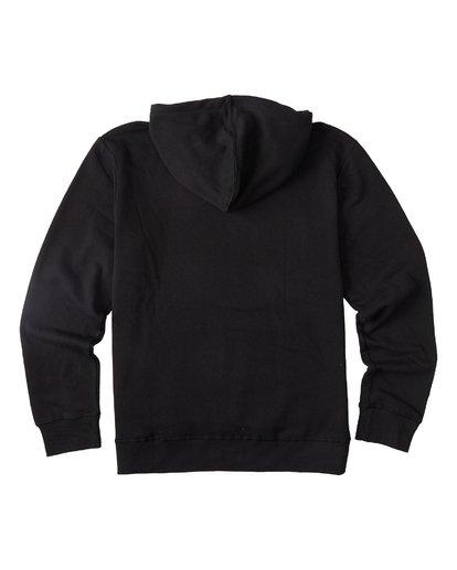 4 Warchild Pullover Hoodie Black M6401BWE Billabong