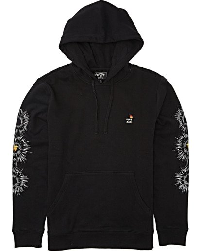 3 Speak For The Trees Pullover Hoodie Black M6402BSP Billabong