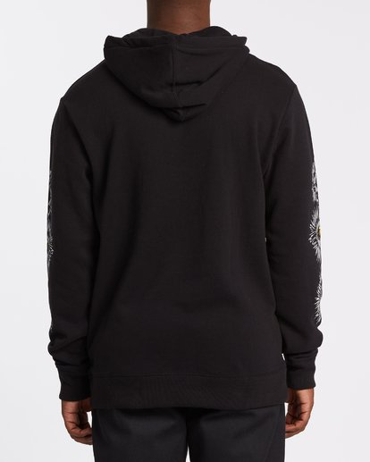 2 Speak For The Trees Pullover Hoodie Black M6402BSP Billabong