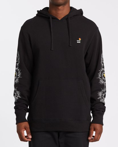 0 Speak For The Trees Pullover Hoodie Black M6402BSP Billabong