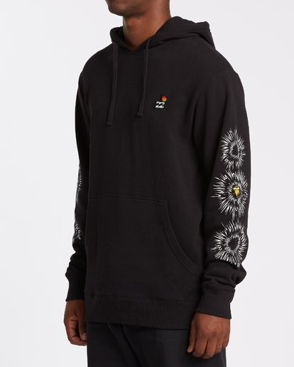1 Speak For The Trees Pullover Hoodie Black M6402BSP Billabong
