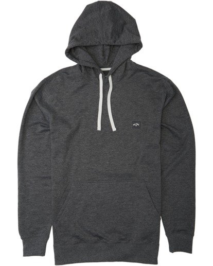 4 All Day Pullover Hoodie Black M6403BAP Billabong