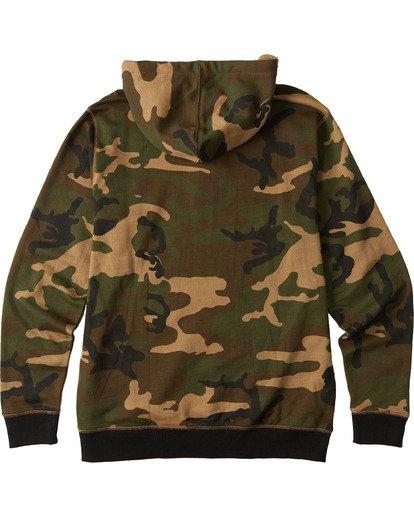 7 All Day Pullover Hoodie Black M6403BAP Billabong