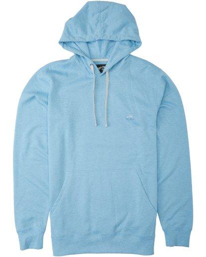 4 All Day Pullover Hoodie Blue M6403BAP Billabong