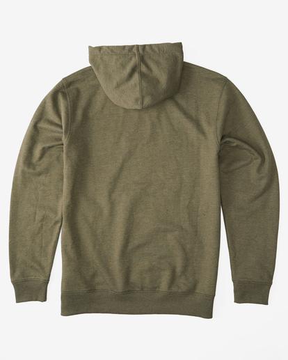 5 All Day Pullover Hoodie Green M6403BAP Billabong