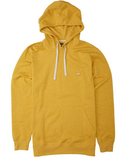 4 All Day Pullover Hoodie Beige M6403BAP Billabong