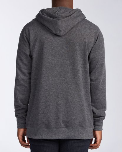3 All Day Pullover Hoodie Black M6403BAP Billabong