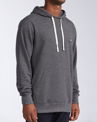 2 All Day Pullover Hoodie Black M6403BAP Billabong