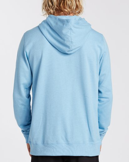2 All Day Pullover Hoodie Blue M6403BAP Billabong