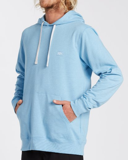 3 All Day Pullover Hoodie Blue M6403BAP Billabong
