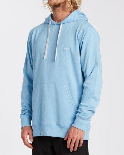 1 All Day Pullover Hoodie Blue M6403BAP Billabong