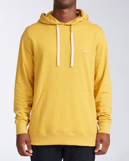 0 All Day Pullover Hoodie Beige M6403BAP Billabong