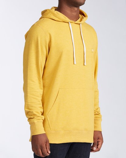 2 All Day Pullover Hoodie Beige M6403BAP Billabong