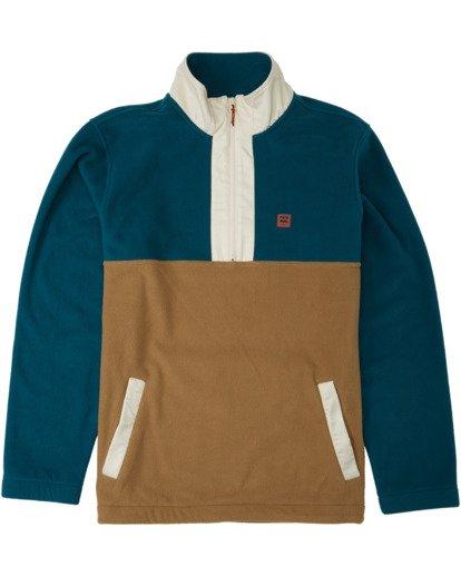 4 Boundary Mock Lite Fleece Multicolor M6403BAT Billabong