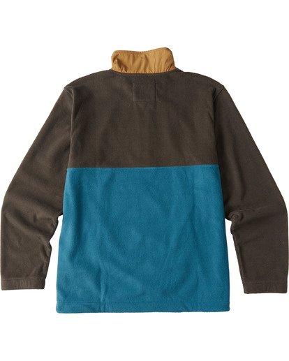 5 Boundary Mock Lite Fleece Black M6403BAT Billabong