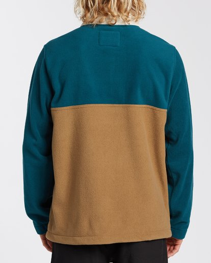 2 Boundary Mock Lite Fleece Multicolor M6403BAT Billabong