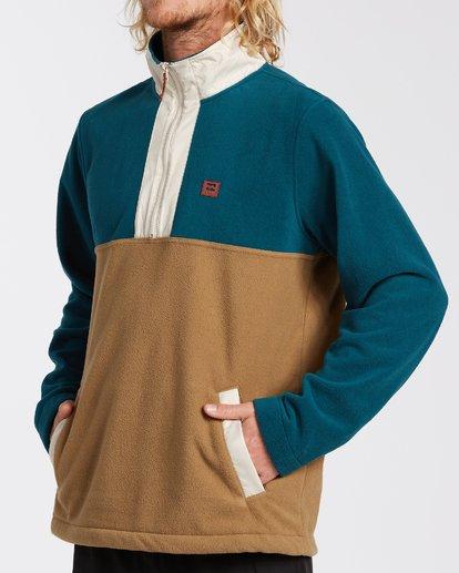 3 Boundary Mock Lite Fleece Multicolor M6403BAT Billabong
