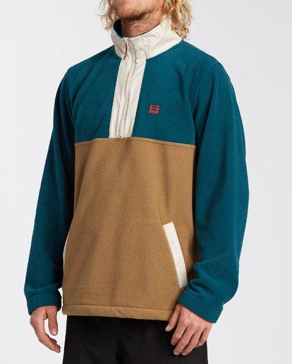 1 Boundary Mock Lite Fleece Multicolor M6403BAT Billabong