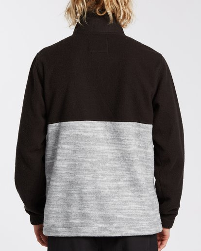 2 Boundary Mock Neck Fleece Black M6403BBM Billabong