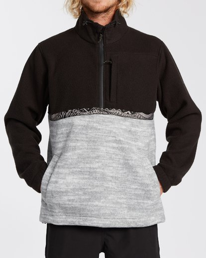 4 Boundary Mock Neck Fleece Black M6403BBM Billabong