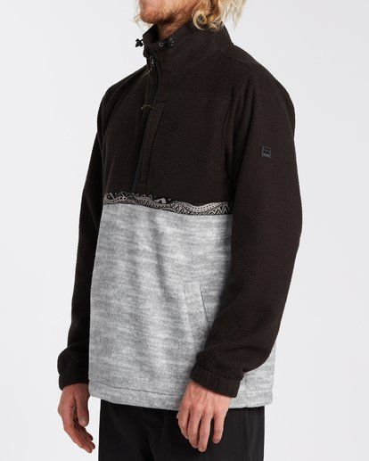1 Boundary Mock Neck Fleece Black M6403BBM Billabong