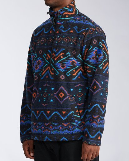1 Boundary Mock Neck Fleece White M6403BBM Billabong