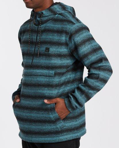 3 Boundary Stripe Hoodie Multicolor M6403BBS Billabong