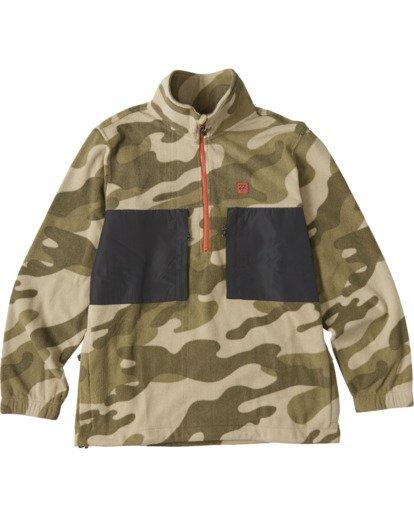 5 Canyon Half Zip Fleece Black M6403BCA Billabong