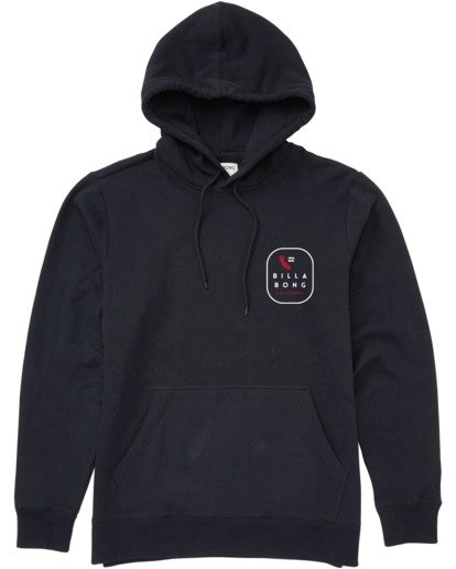 0 California Tour Pullover Hoodie Black M6403BCR Billabong