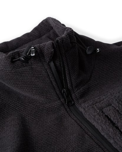 2 Boundary Mock Half Zip Pullover Fleece Black M640QBBM Billabong