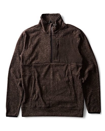 0 Boundary Fleece Brown M640QBBM Billabong