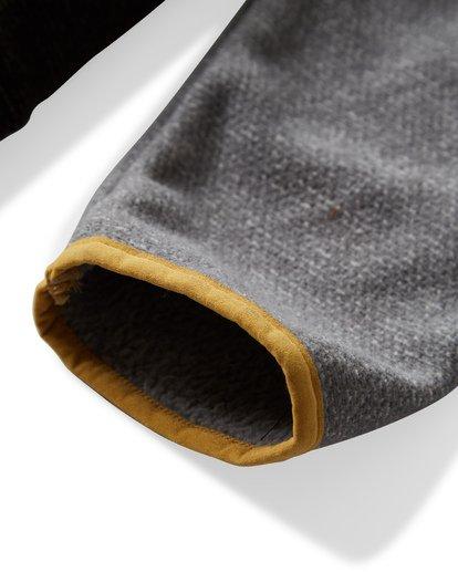 2 Boundary Mock Half Zip Pullover Fleece Grey M640QBBM Billabong