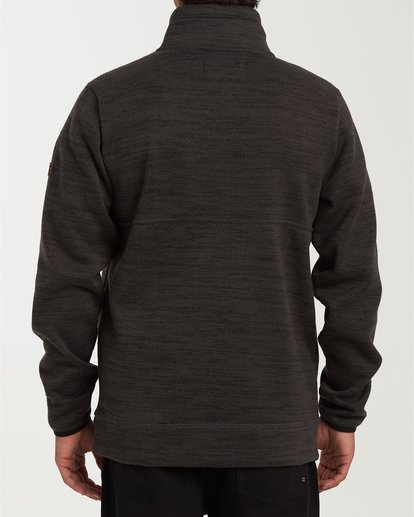 2 Boundary Mock Half Zip Pullover Fleece  M640QBBM Billabong