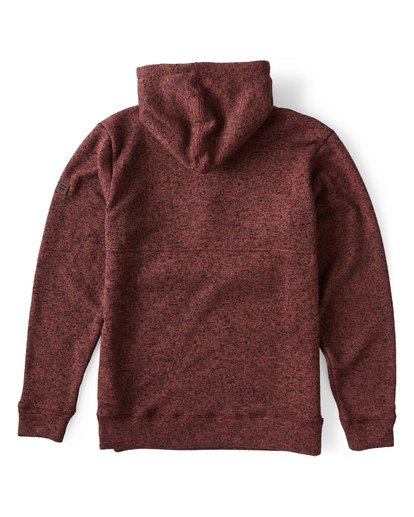 4 Boundary Pullover Hoodie Brown M640QBBO Billabong