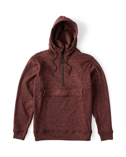 0 Boundary Pullover Hoodie Brown M640QBBO Billabong