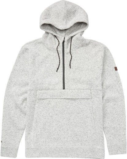 6 Boundary Pullover Hoodie Grey M640QBBO Billabong