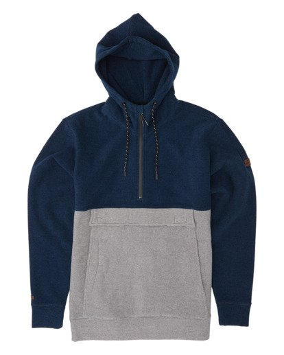 4 Boundary Pullover Hoodie Blue M640QBBO Billabong