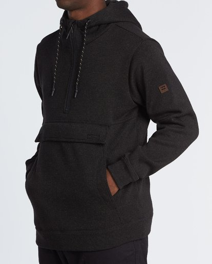 1 Boundary Pullover Hoodie Black M640QBBO Billabong