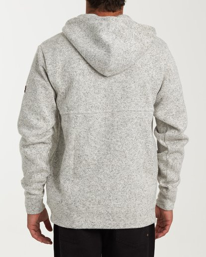 2 Boundary Pullover Hoodie Grey M640QBBO Billabong