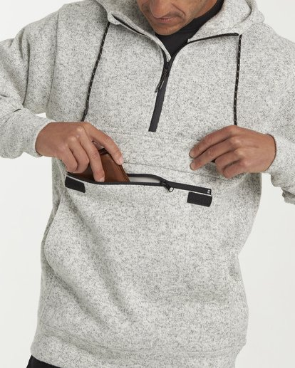 5 Boundary Pullover Hoodie Grey M640QBBO Billabong