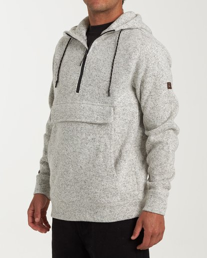 1 Boundary Pullover Hoodie Grey M640QBBO Billabong