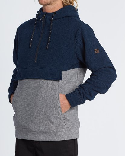 1 Boundary Pullover Hoodie Blue M640QBBO Billabong
