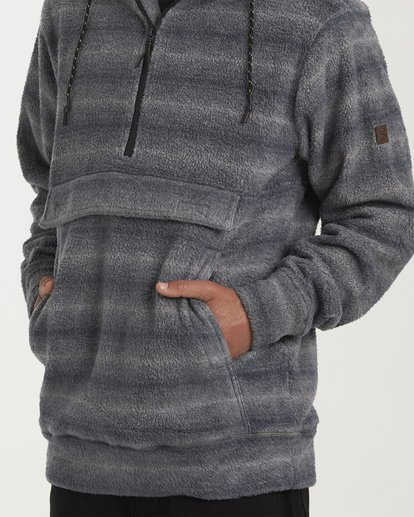 3 Boundary Pullover Hoodie Blue M640QBBO Billabong