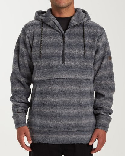 2 Boundary Fleece Hoodie Blue M640QBBO Billabong