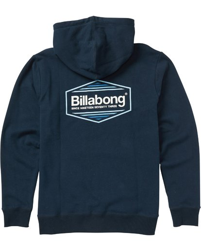 1 Pacific Pullover Hoody Graphic Hoodie  M640SBPP Billabong