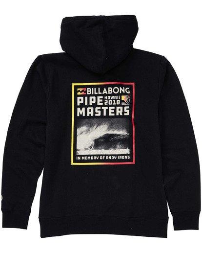 1 Pipe Pullover Hoodie Black M640TBPI Billabong