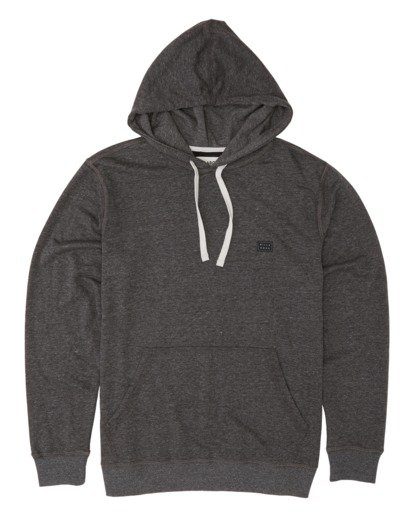 3 All Day Pullover Hoodie Black M640VBAP Billabong