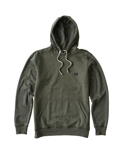 3 All Day Pullover Hoodie Brown M640VBAP Billabong