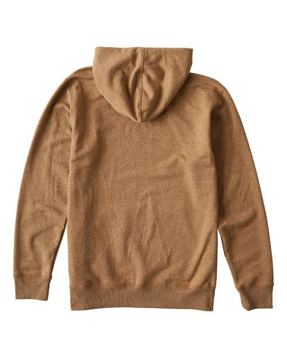 4 All Day Pullover Hoodie Brown M640VBAP Billabong